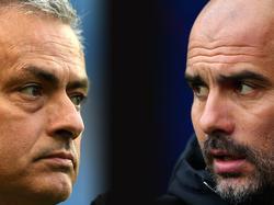 Mourinho y Guardiola vuelven a cruzarse en un duelo de banquillos. (Foto: Getty)