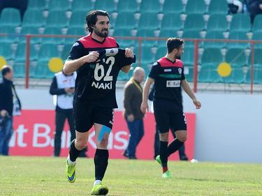Die Spieler von Amed SK haben im türkischen Pokal den Erstligisten Bursaspor besiegt
