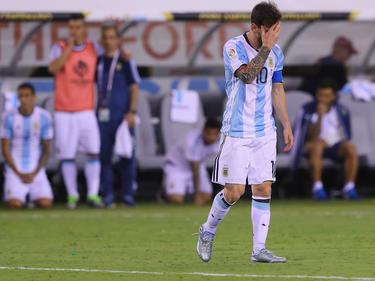 Lionel Messi trat nach dem verlorenen Copa-Finale zurück