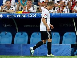 Bastian Schweinsteiger läuft nie mehr für die DFB-Elf auf