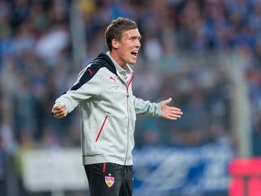 Hannes Wolf muss sich bei seinem Debüt mit einem Remis zufrieden geben