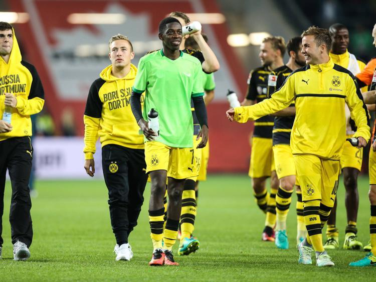 Mario Götze sieht sich beim BVB dem Wettbewerb mit vielen Talenten ausgesetzt