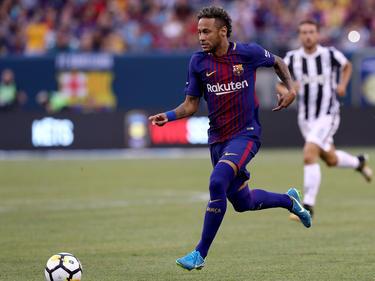 Neymar estuvo de cine ante la Juventus de Turín. (Foto: Getty)