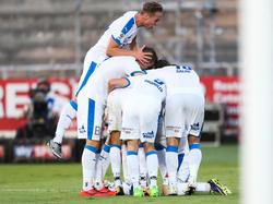 Spannender Spitzenkampf in der Fußball-Erste-Liga