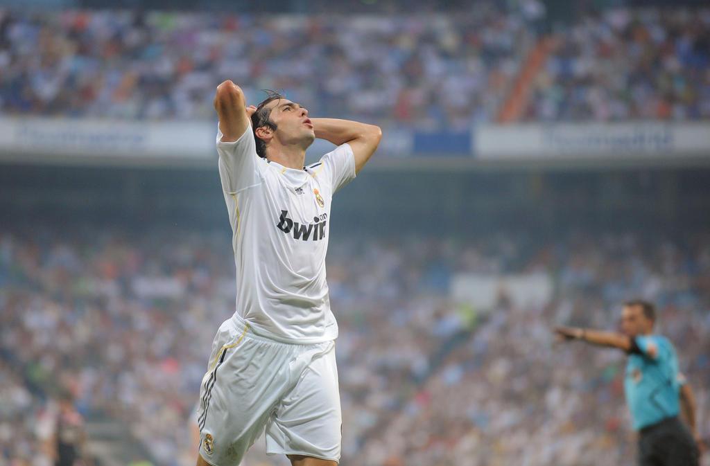 7. Platz: Kaká (Real Madrid) - Gewinn: 56,75 Mio.