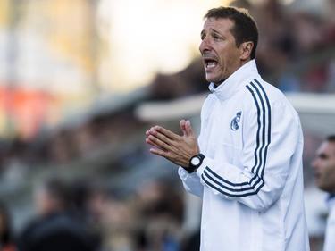 Luis Miguel Ramis, en su etapa en las categorías inferiores del Real Madrid. (Foto: Imago)