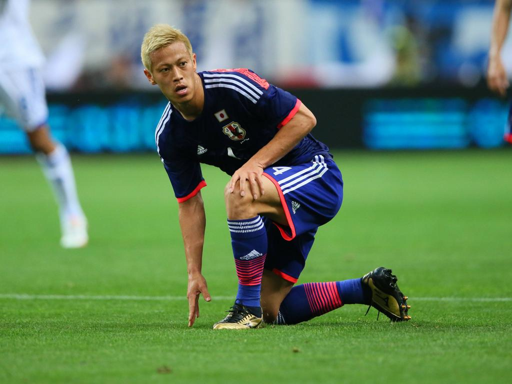 World Cup News Honda gutted over Japan lack of ideas
