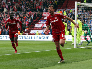 Christian Stuani traf zum 1:0 für Middlesbrough