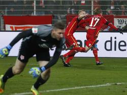 Union Berlin siegt am 15. Zweitligaspieltag gegen Eintracht Braunschweig