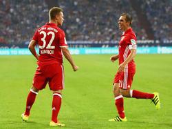 Joshua Kimmich könnte beim FC Bayern Nachfolger von Philipp Lahm werden