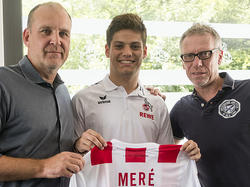 Jorge Meré (M.) wechselt zum 1. FC Köln (Bildquelle: fc-koeln.de)