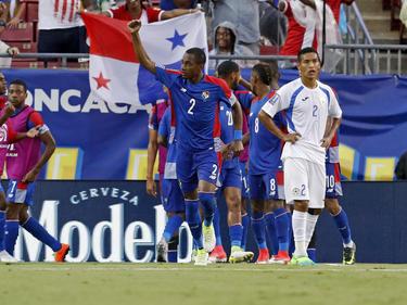 Ismael Murillo celebra uno de los tantos panameños. (Foto: Getty)
