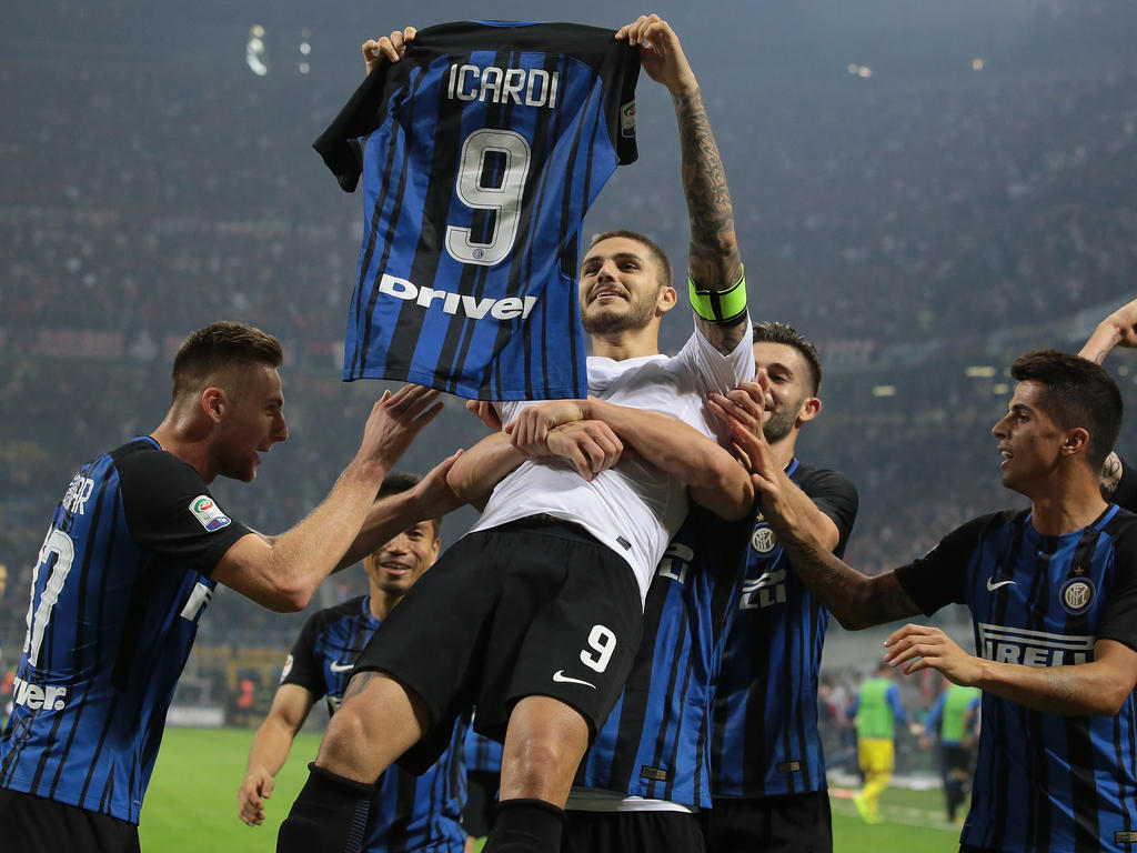Mauro Icardi ist in Italien der Mann der Stunde