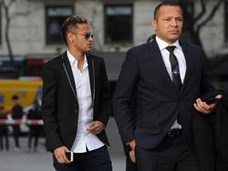 Wechselt Neymar (li.) in einigen Jahren zu Real Madrid?