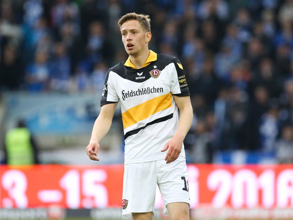 Hat sich bis 2018 an Dynamo gebunden: Jannik Müller