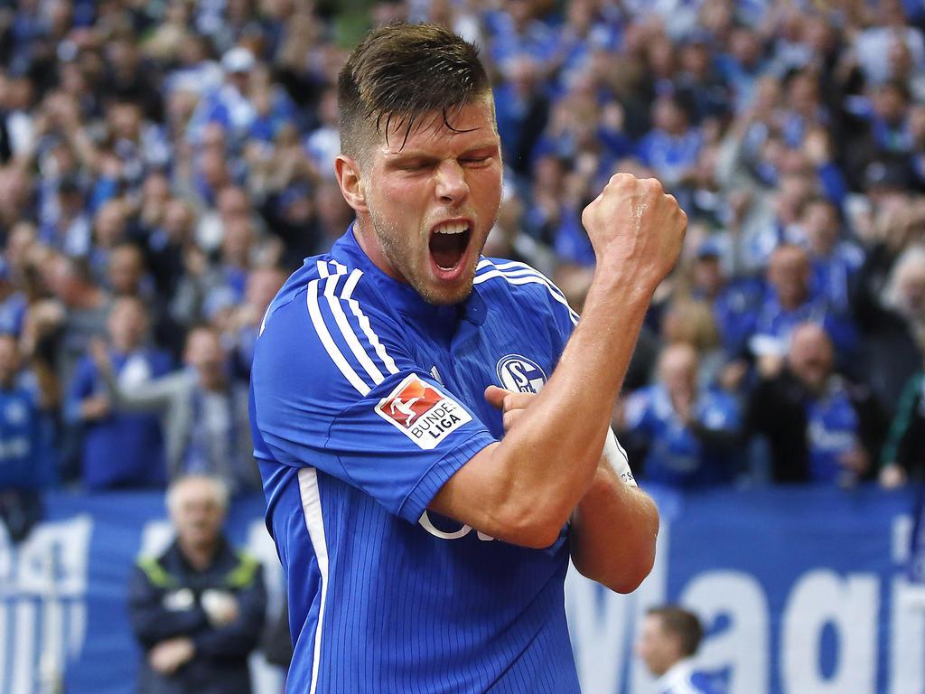 Bundesliga Nieuws Huntelaar maakt winnende goal voor Schalke