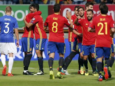 Spanien meldete mit einem 8:0-Kantersieg Ambitionen auf den Gruppensieg an