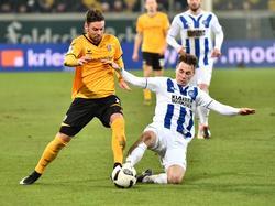 Der Kalsruher SC holte bei Dynamo Dresden einen Punkt