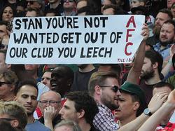 Unzufriedene Fans fordern eine Veränderung