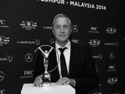 2014 konnte Cruyff noch persönlich seine Auszeichnung bei den Laureus Sports Awards entgegennehmen