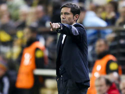 Villarreal-Coach Marcelino erlebte eine Niederlage seiner Mannschaft