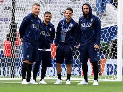 Die Italiener bereiten sich auf das Deutschland-Spiel vor
