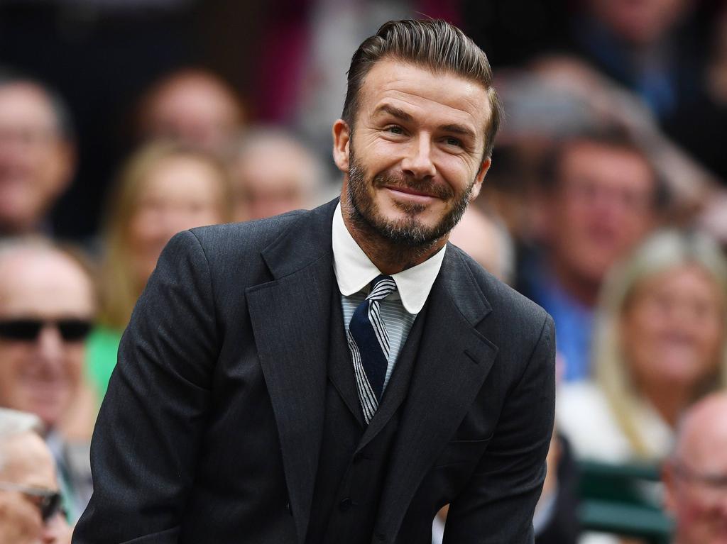 David Beckham ist beeindruckt vom