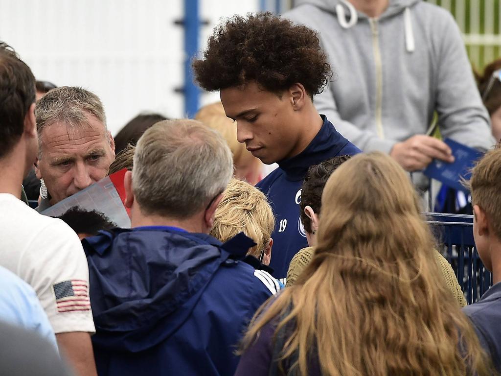 Leroy Sané wird wohl bald nicht mehr auf Schalke auftauchen
