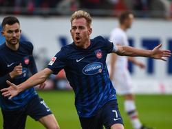 Mann des Spiels: Marc Schnatterer besiegt St. Pauli im Alleingang