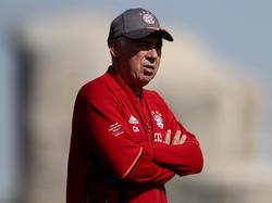 Carlo Ancelotti vertraut seinem Personal und plant keine Transfers