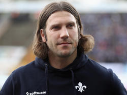 Torsten Frings droht am Samstag der vorzeitige Abstieg mit seinem SV Darmstadt