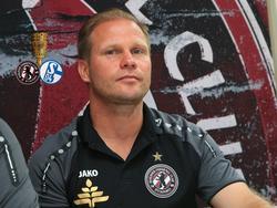 BFC-Trainer René Rydlewicz freut sich auf die Partie gegen den FC Schalke 04