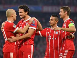 Drei Tore und drei Punkte für die Bayern