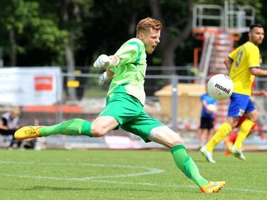 Samuel Aubele macht bald für Hansa Rostock seine Abschläge