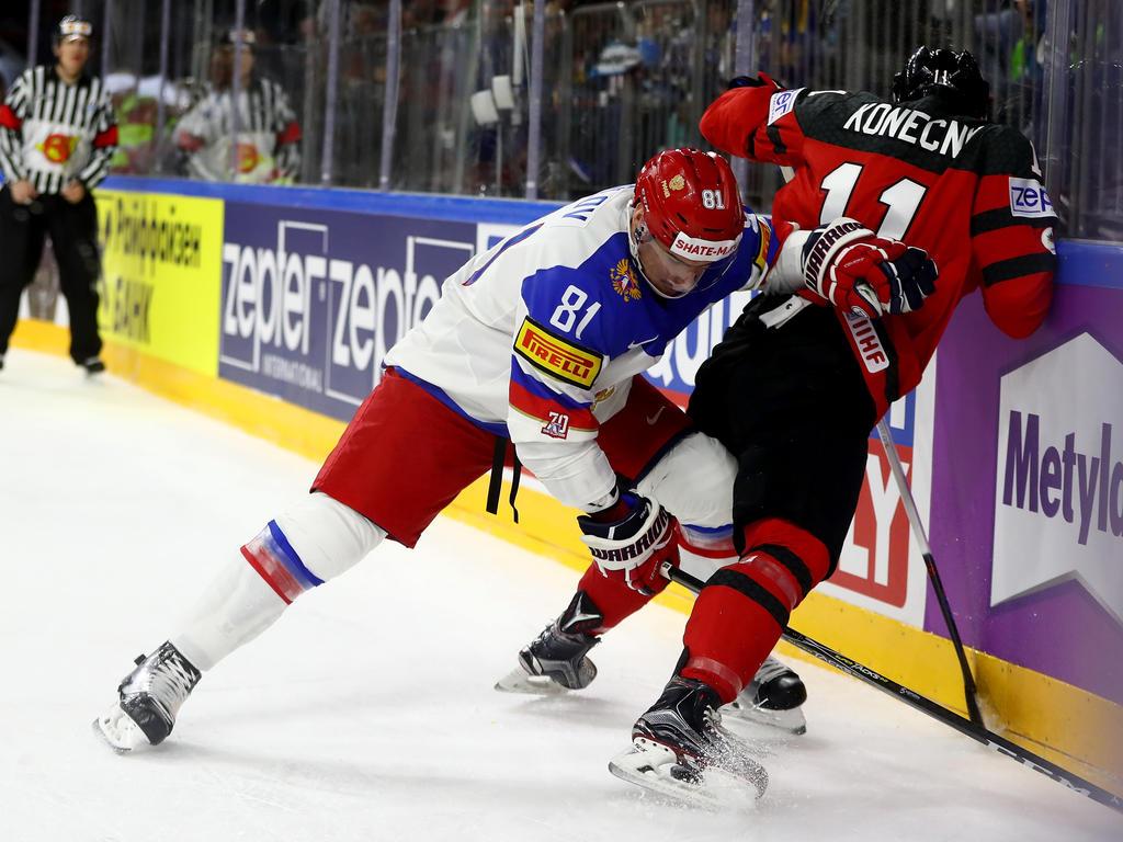 Eishockey: Kanada nach Sieg über Russland im WM-Finale