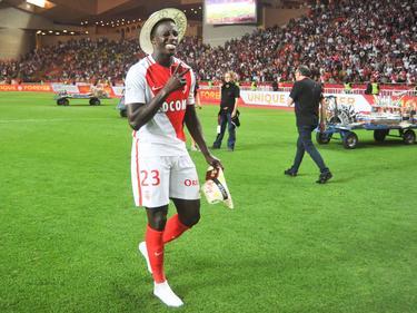 Benjamin Mendy celebra el título de liga francesa. (Foto: Imago)