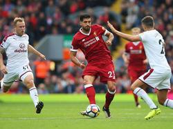Emre Can und der FC Liverpool kassierten den nächsten Dämpfer