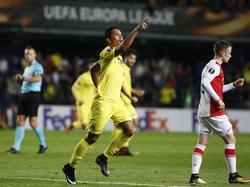 Bacca le salvó un punto al Villarreal contra el Slavia. (Foto: Imago)