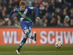 Ob Kevin de Bruyne in Wolfsburg verlängert, entscheidet sich nach dem Pokalfinale
