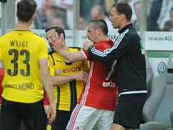 Franck Ribéry hat immer wieder mit Aussetzern zu kämpfen