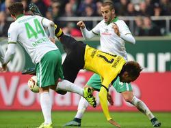 Werder hatte in den letzten Partien immer heftig mit dem BVB zu kämpfen