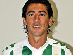 Pedro Ríos en una imagen de esta campaña con la camiseta del Córdoba. (Foto: Imago)