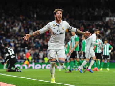 Sergio Ramos salió otra vez al rescate del Real Madrid. (Foto: Getty)