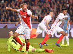 Kylian Mbappé traf für Monaco zum 1:0