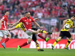 Gegen den BVB wollen die Bayern wieder die Nase vorn haben