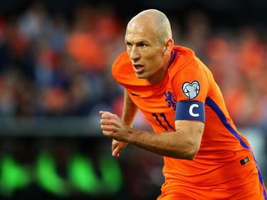 Arjen Robben hofft noch auf die WM 2018