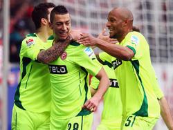 Fortuna Düsseldorf feiert einen überraschenden Auswärtssieg