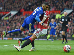 Manchester United bremst Leicester aus