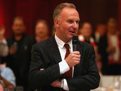 Karl-Heinz Rummenigge ist Vorstandsvorsitzender beim FC Bayern
