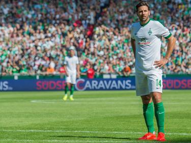 Pizarro möchte bald wieder für den SVW auf dem Platz stehen